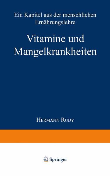 Vitamine und Mangelkrankheiten - Coverbild