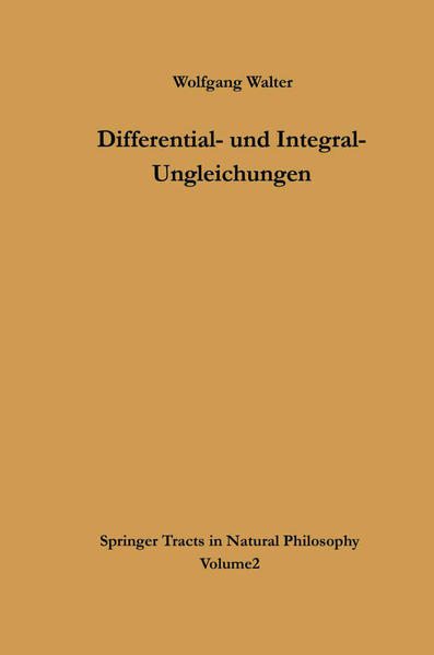 Differential- und Integral-Ungleichungen - Coverbild