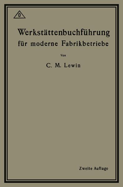 Werkstättenbuchführung für moderne Fabrikbetriebe - Coverbild