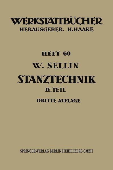 Stanztechnik - Coverbild