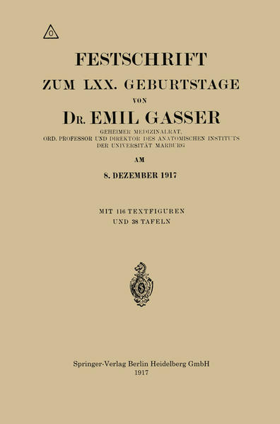 Festschrift Zum LXX. Geburtstage - Coverbild