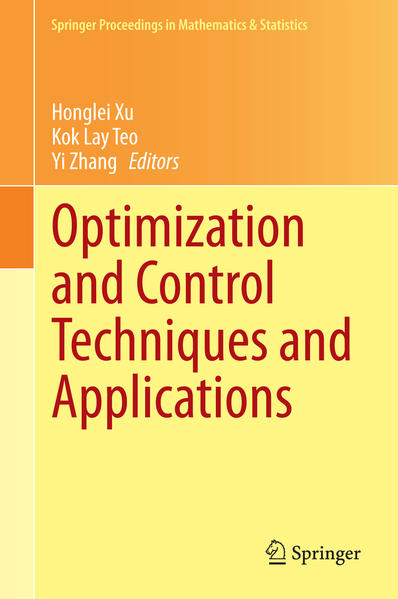 Optimization and Control Techniques and Applications - Coverbild