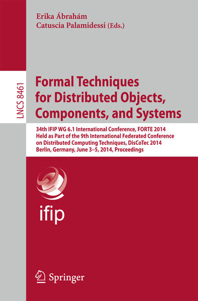Formal Techniques for Distributed Objects, Components, and Systems - Coverbild