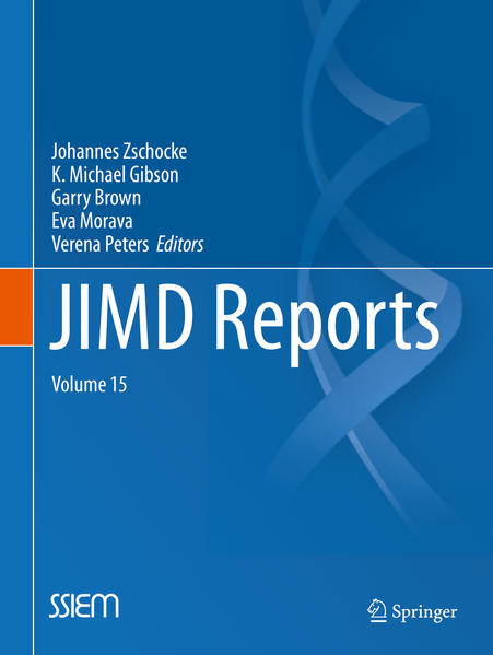 JIMD Reports, Volume 15 - Coverbild