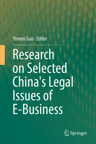 Research on Selected China's Legal Issues of E-Business - Coverbild