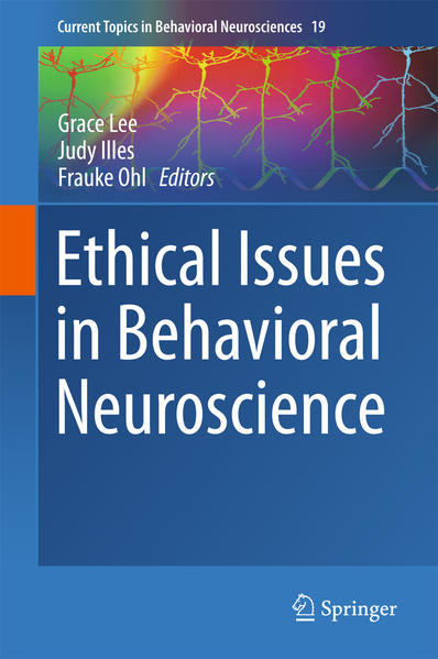 Ethical Issues in Behavioral Neuroscience - Coverbild