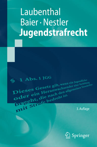 Jugendstrafrecht - Coverbild