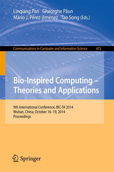 Bio-inspired Computing: Theories and Applications - Coverbild
