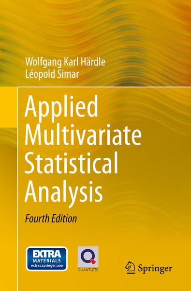Applied Multivariate Statistical Analysis - Coverbild