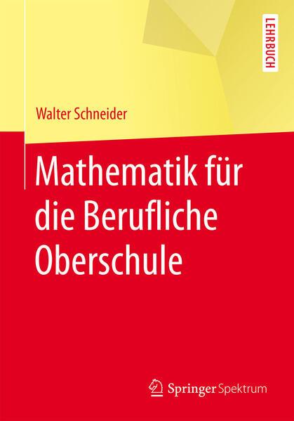 Mathematik für die berufliche Oberschule - Coverbild