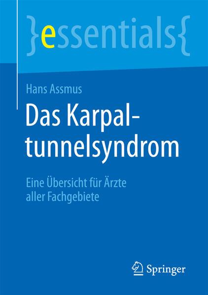 Das Karpaltunnelsyndrom - Coverbild