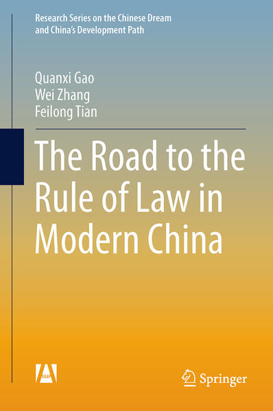 The Road to the Rule of Law in Modern China - Coverbild