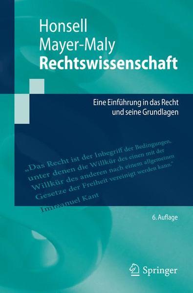 Rechtswissenschaft - Coverbild