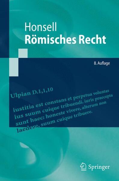 Römisches Recht - Coverbild