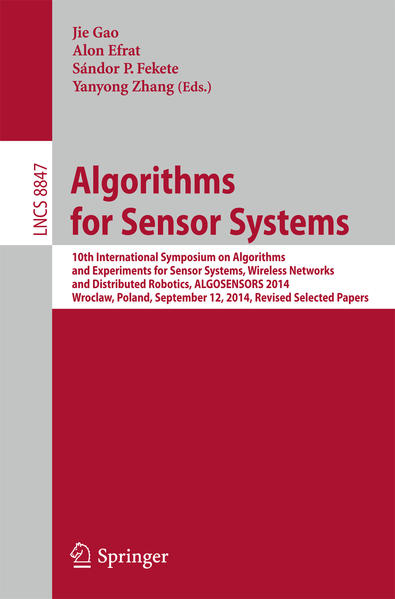 Algorithms for Sensor Systems - Coverbild