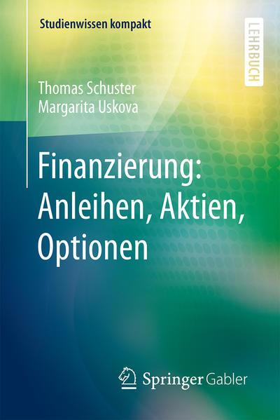 Finanzierung: Anleihen, Aktien, Optionen - Coverbild