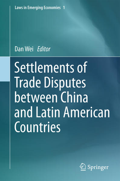 Settlements of Trade Disputes between China and Latin American Countries - Coverbild