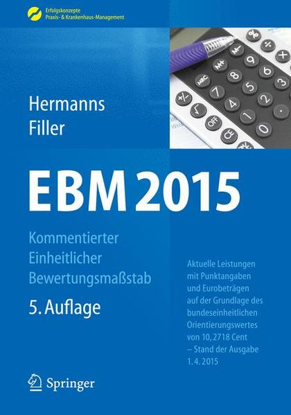 EBM 2015 - Kommentierter Einheitlicher Bewertungsmaßstab - Coverbild