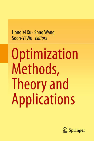 Optimization Methods, Theory and Applications - Coverbild