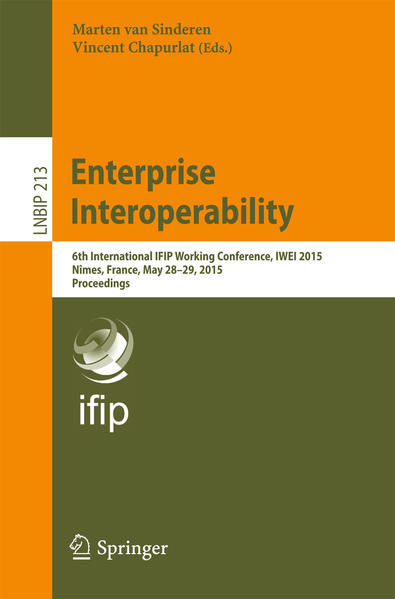 Enterprise Interoperability - Coverbild