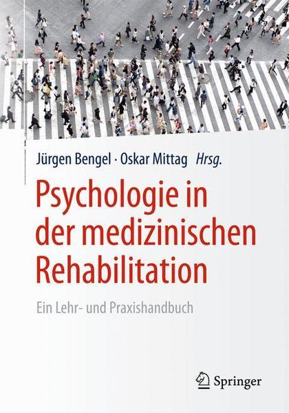 Psychologie in der medizinischen Rehabilitation - Coverbild