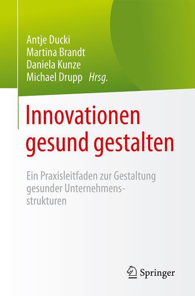 Innovationen gesund gestalten - Coverbild