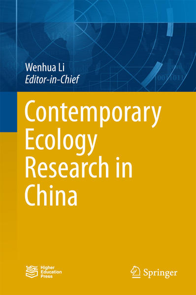 Contemporary Ecology Research in China - Coverbild