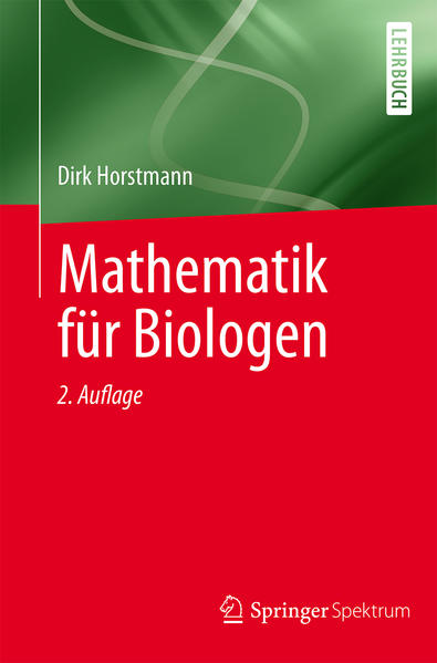 Mathematik für Biologen - Coverbild