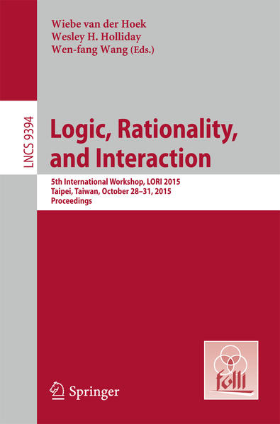 Logic, Rationality, and Interaction - Coverbild