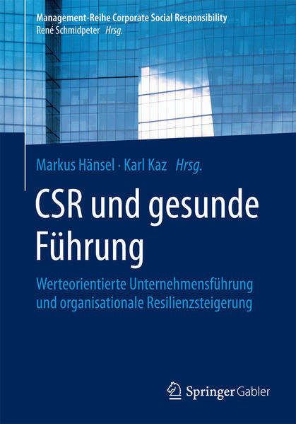 CSR und gesunde Führung - Coverbild