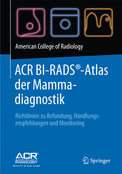 ACR BI-RADS®-Atlas der Mammadiagnostik - Coverbild