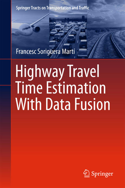 Highway Travel Time Estimation With Data Fusion - Coverbild