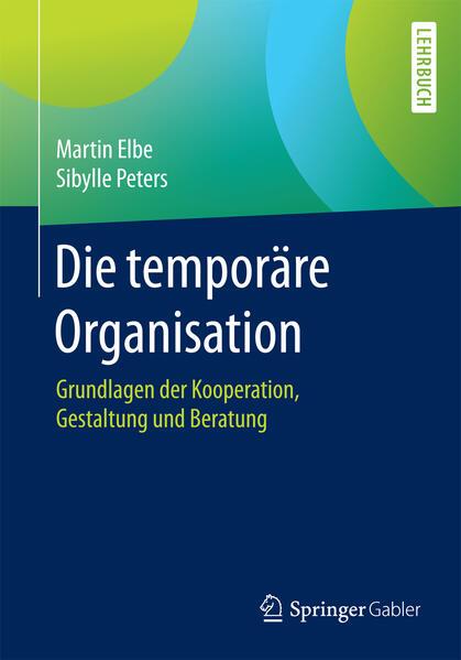 Die temporäre Organisation - Coverbild