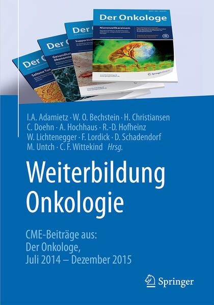 Weiterbildung Onkologie - Coverbild