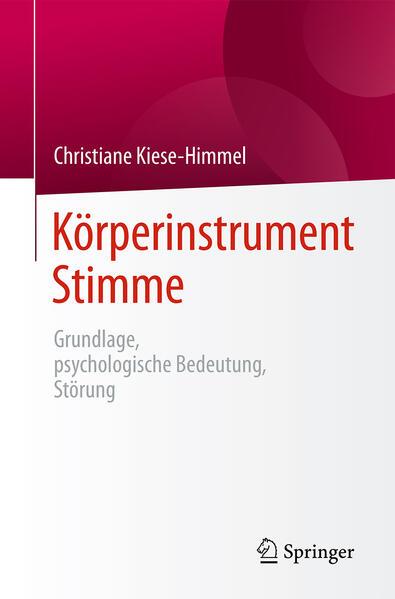 Körperinstrument Stimme - Coverbild