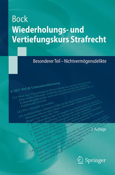 Wiederholungs- und Vertiefungskurs Strafrecht - Coverbild