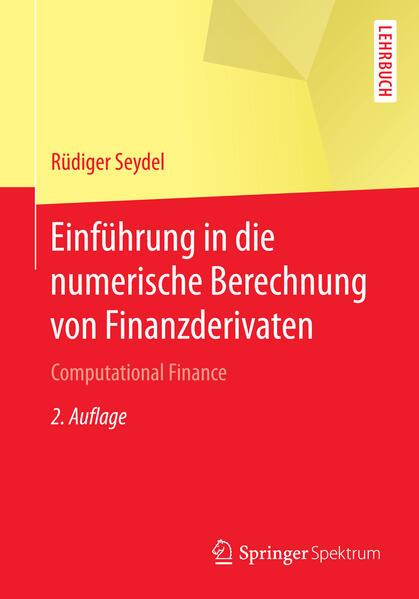 Einführung in die numerische Berechnung von Finanzderivaten - Coverbild