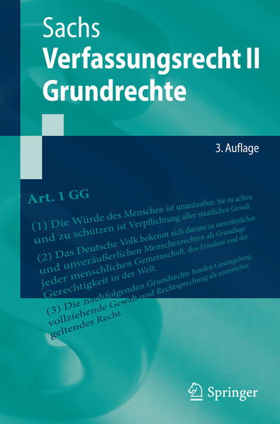 Verfassungsrecht II - Grundrechte - Coverbild