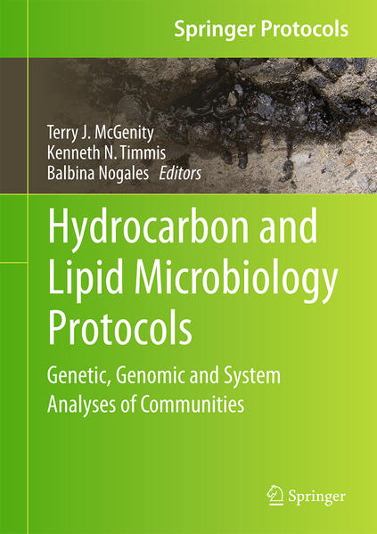 Hydrocarbon and Lipid Microbiology Protocols - Coverbild