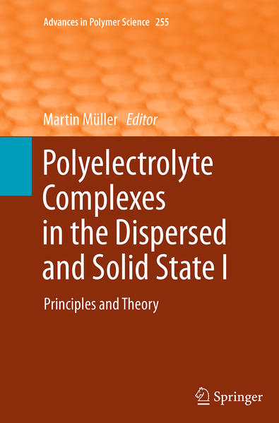 Polyelectrolyte Complexes in the Dispersed and Solid State I - Coverbild