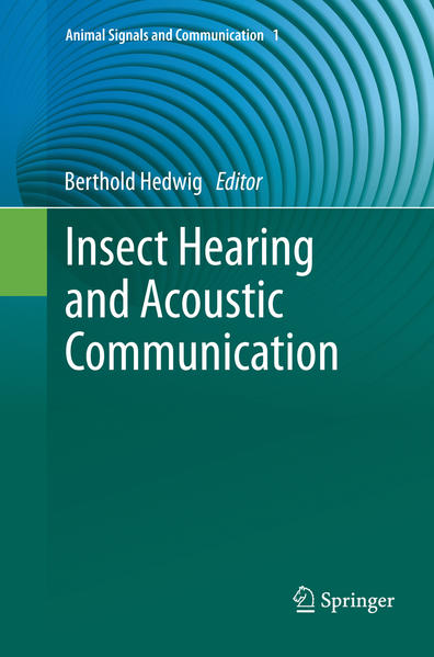 Insect Hearing and Acoustic Communication - Coverbild