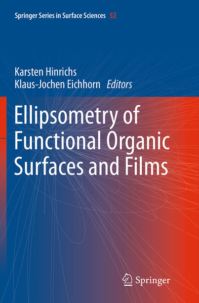 Ellipsometry of Functional Organic Surfaces and Films - Coverbild