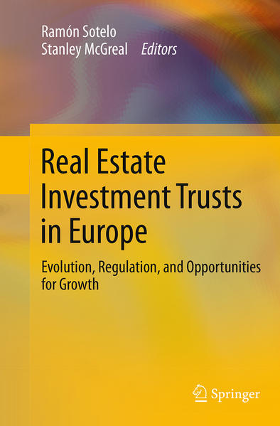 Real Estate Investment Trusts in Europe - Coverbild