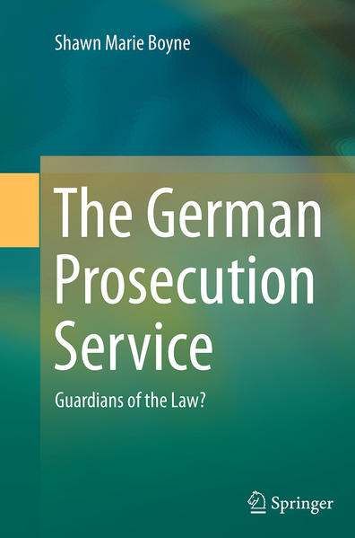 The German Prosecution Service - Coverbild