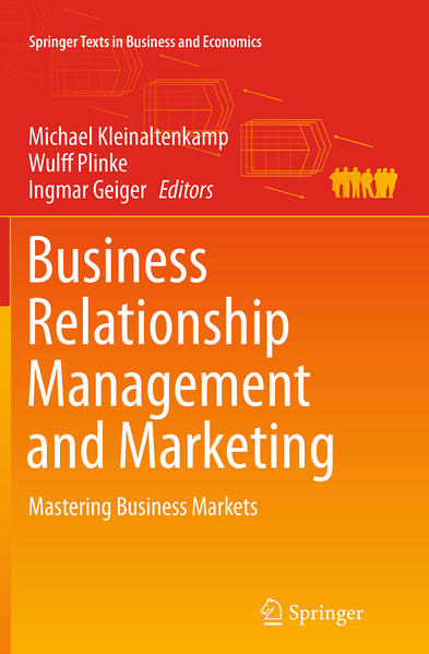Business Relationship Management and Marketing - Coverbild