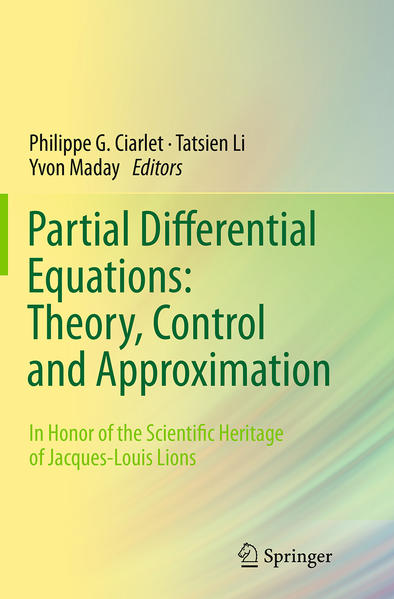 Partial Differential Equations: Theory, Control and Approximation - Coverbild