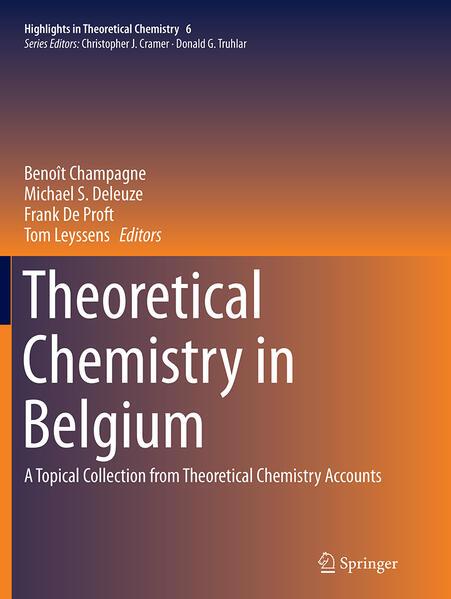 Theoretical Chemistry in Belgium - Coverbild