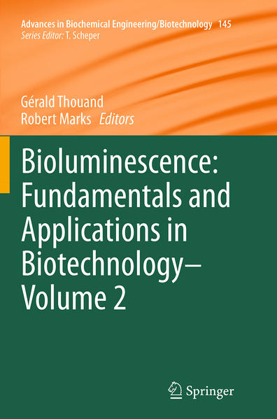 Bioluminescence: Fundamentals and Applications in Biotechnology - Volume 2 - Coverbild