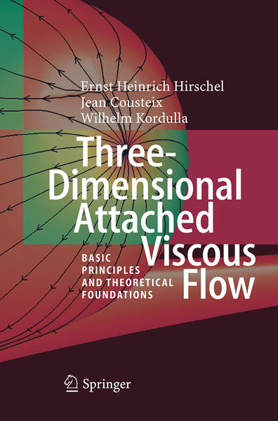 Three-Dimensional Attached Viscous Flow - Coverbild