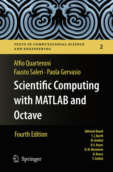 Scientific Computing with MATLAB and Octave - Coverbild